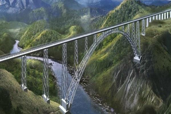 chenab rail bridge will be ready by next year
