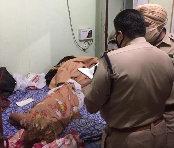 woman s body found in bhogpur home room