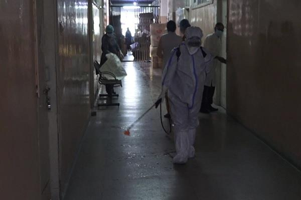 positive patient had undergone dialysis center sealed