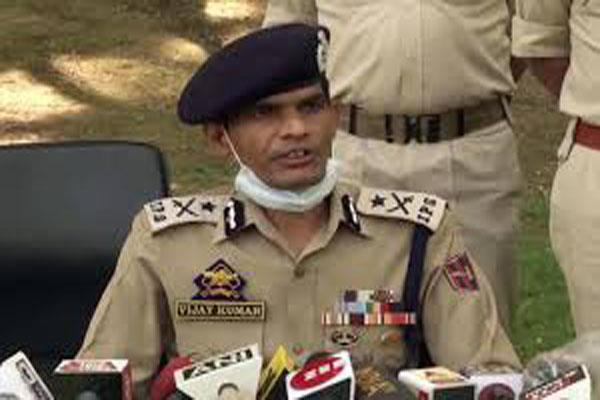 terrorist killed in kupwara encounter was pakistani said police