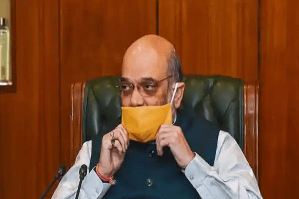 improvement in the health of union home minister amit shah