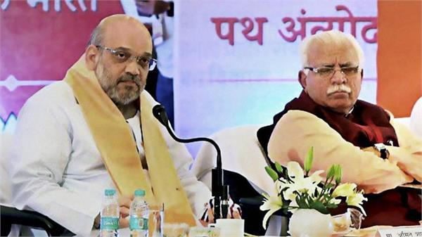 cm khattar reacted to amit shah tweet said get healthy soon as possible