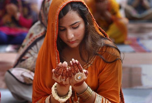 muslims celebrated eid ul azha festival all over the world