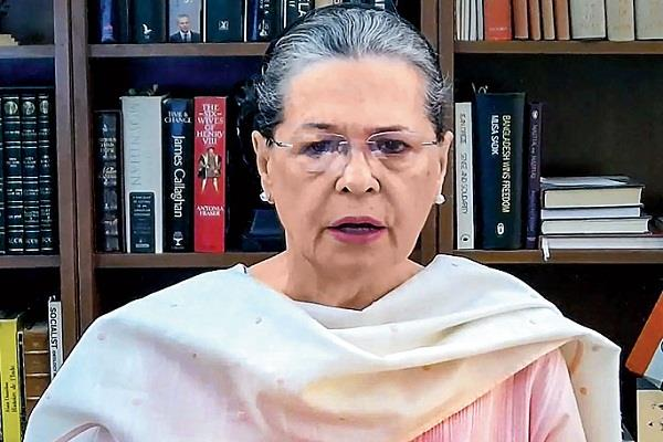 on independence day sonia targeted the modi government