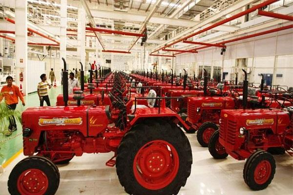 m  m s tractor sales up 27 percent in july
