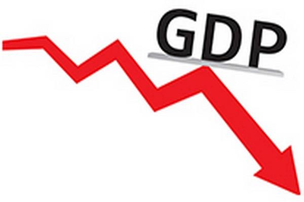 gdp fell 23 9 in first quarter