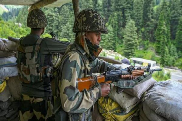 attempts to infiltrate loc failed army killed a terrorist