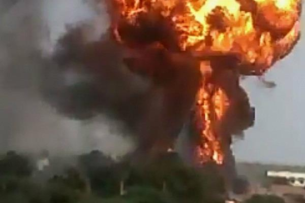 blast in boiler of a factory in nagpur five people died on the spot