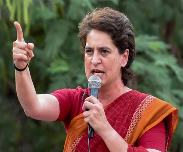 situation deteriorated due to corona in up priyanka