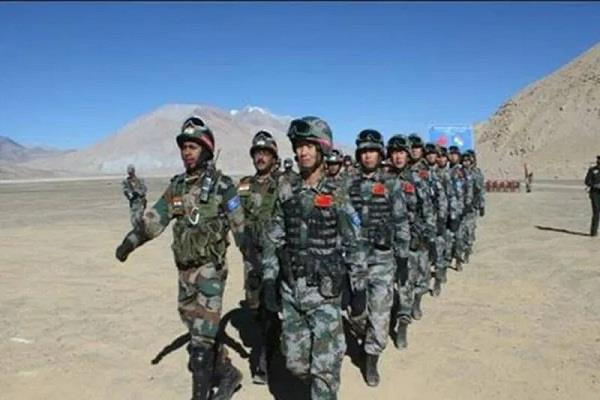 after ladakh now one thousand chinese army personnel appeared in script