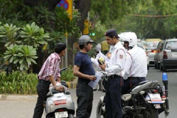 challans of 902 people ignoring traffic rules in lucknow