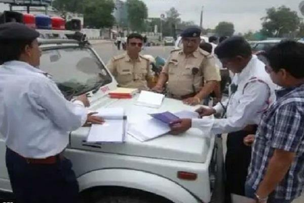e challan challan of 1008 people ignoring traffic rules in lucknow
