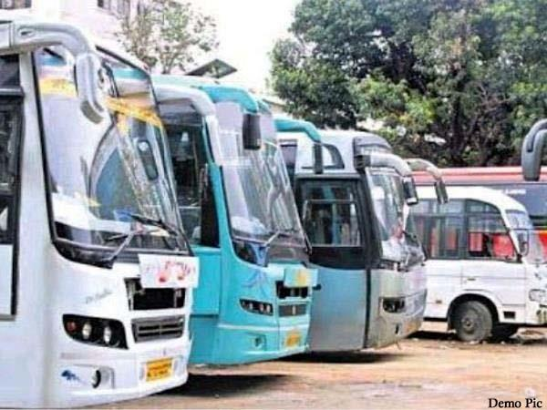 punbus  roadways buses started from today