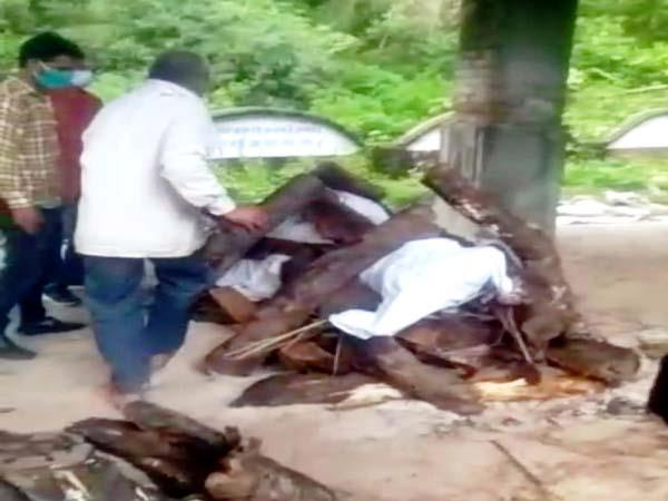 death of elderly woman in nahan