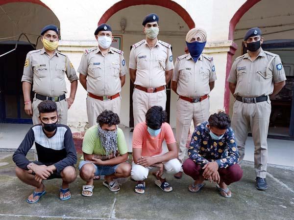 bike thief gang busted