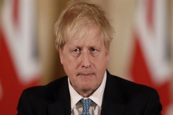 the corona threat again in self isolation to the british prime minister