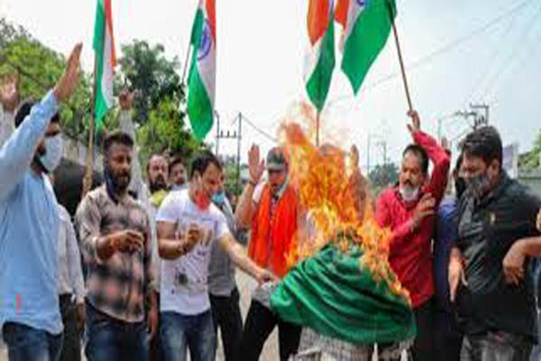 congress demand security after killing of leader in kashmir