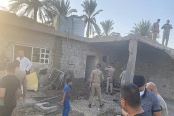 5 dead two injured in iraq rocket attack