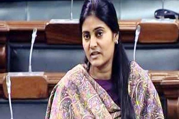 anupriya patel demands increase in daily wages of mnrega workers