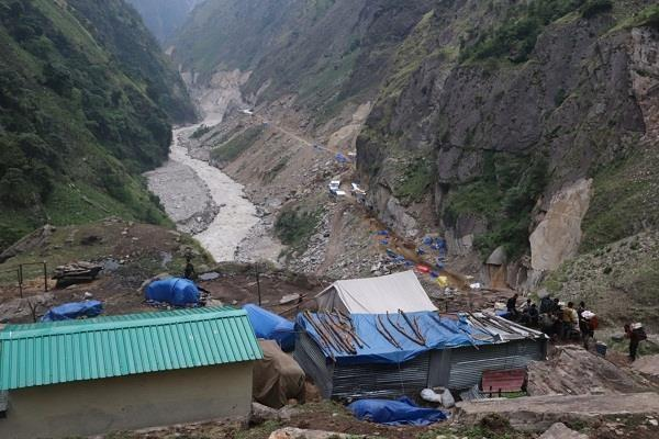 china is doing illegal occupation in nepal in the name of help