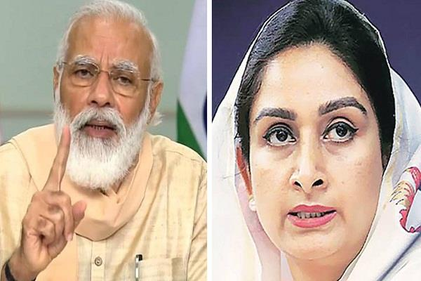 off the record when modi refused to meet harsimrat