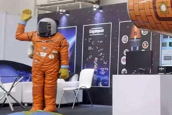 construction of space suit for gaganyaan astronauts in russia