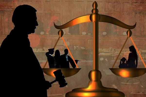 crime victims pleading at the threshold of law
