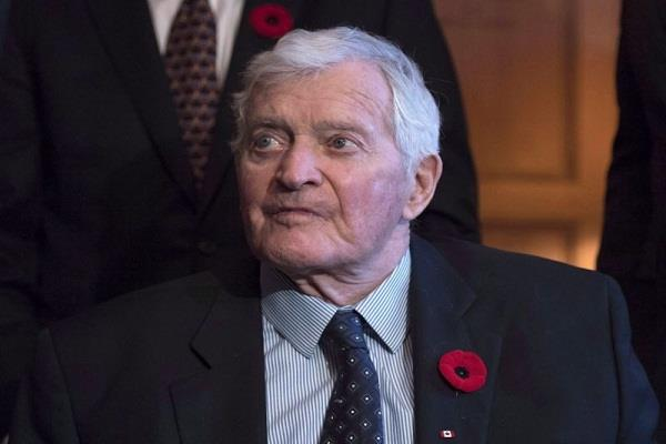 former canadian prime minister john turner passed away