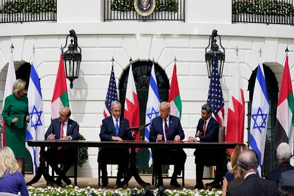 israel signed agreement with uae and bahrain