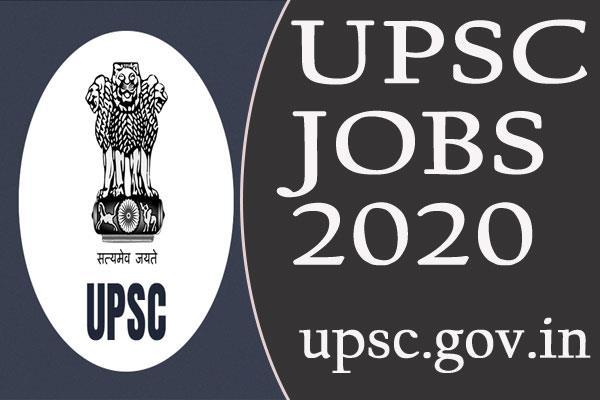 upsc recruitment 2020 for 42 assistant engineer  others posts