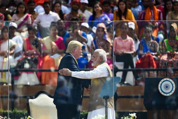 trump congratulated pm modi on his birthday