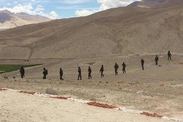 indian army is far away from black top