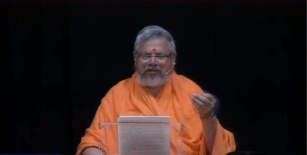 spiritual guru of vedic ashram dies mortal remains flown to india