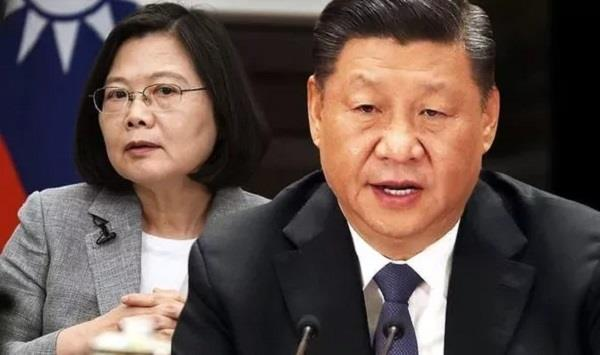 china threatens to wipe out taiwan president with war