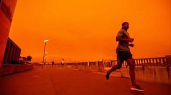 us wildfire in california s smoke filled horizon it s become hard to breathe