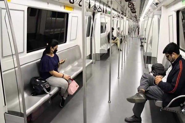 dmrc delhi metro mask