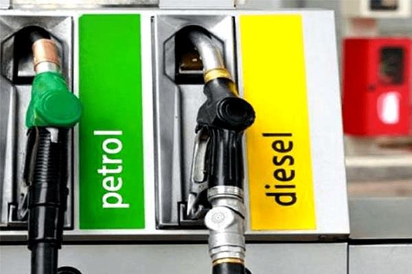 relief in diesel and petrol prices today