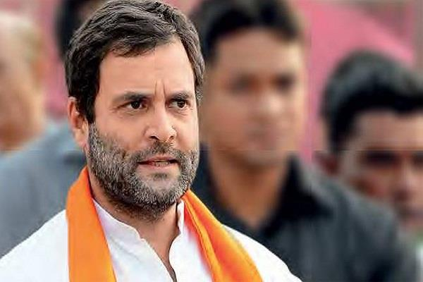 rahul gandhi again attack on modi government
