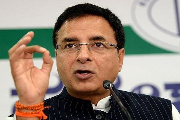 congress made surjewala chairman of emcc