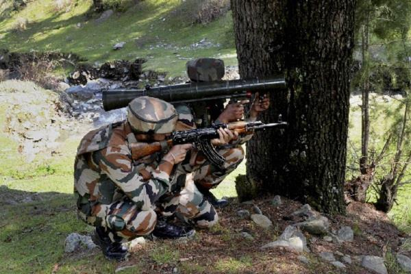 a terrorist shot dead by security forces in budgam jammu and kashmir