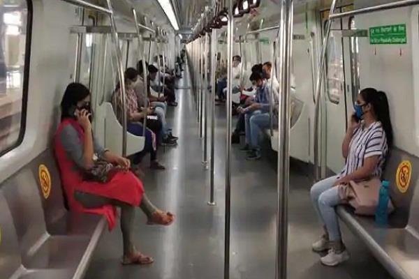 delhi metro mask dmrc