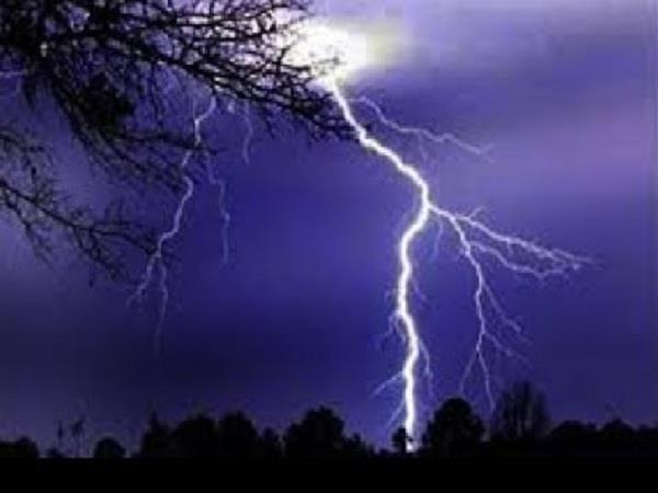 4 killed due to sky lightning