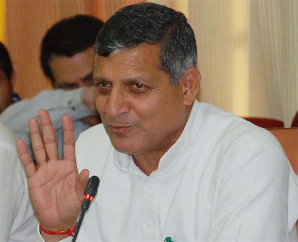 education minister kanwarpal gurjar corona positive