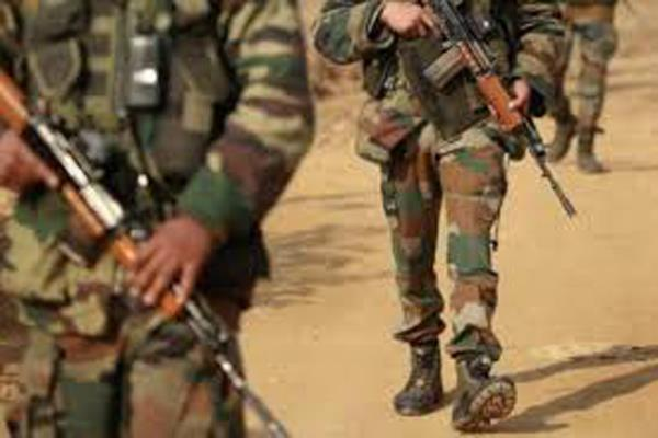 pak army opened heavy fire on the line of control in poonch