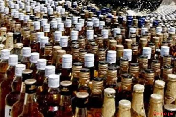 10 bottles of country liquor recovered