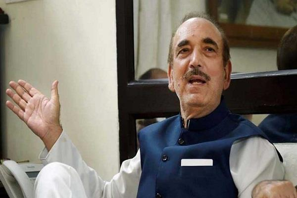 up congress official opposes ghulam nabi azad