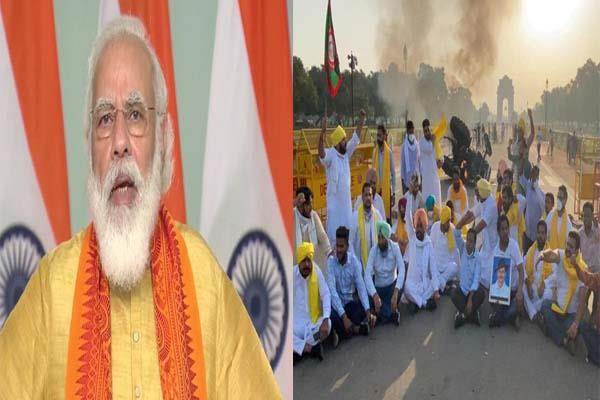pm modi attack on opposition who opposing agriculture bill