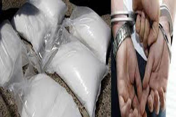 suspect arrested with heroin worth rs 35 crore from rajouri