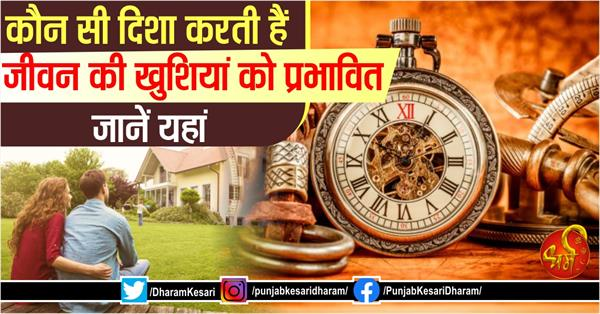 know interesting facts related to vastu directions