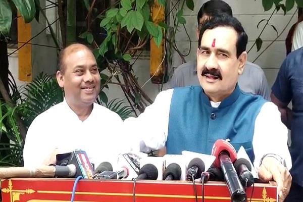 narottam mishra s stance on parul sahu joining congress